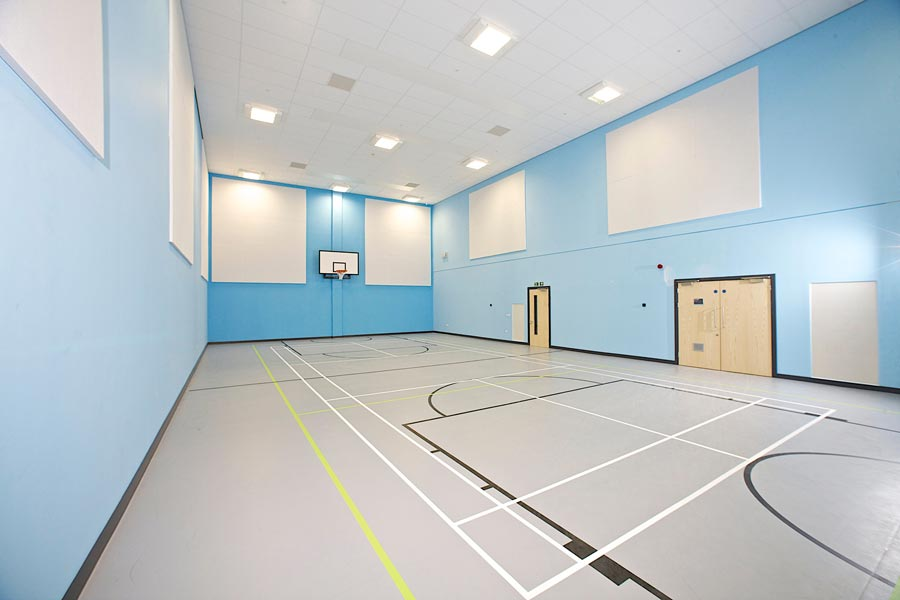 City of Leicester College Sports Facilities