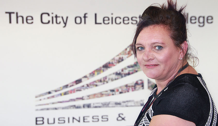Jennie Sterland The City of Leicester College Business manager
