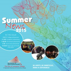 Summer Newsletter 2015 front cover